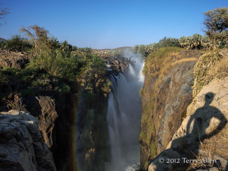 Epupa-falls-with-shadow, Namibia