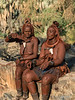 Two-Himba-women-in-conversation-1,-Epupa,-Namibia