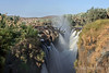 Epupa-falls,-upper-falls-with-smoke-2, Namibia