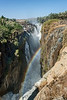 Epupa-Falls-with-rainbow,-Namibia