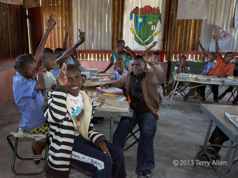 School-children-3,-Epupa,-Namibia