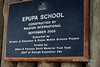 Epupa-School-sign,-Epupa,-Namibia