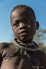 Portrait-of-Himba-child,-Epupa,-Namibia