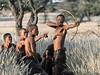 Bushmen-demonstrating-hunting-technique-7,-Intu-Africa