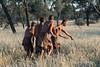 Bushmen-demonstrating-hunting-technique-2,-Intu-Africa