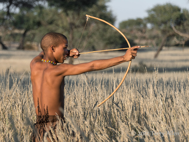 Bushman-shooting-arrow-1,-Intu-Africa