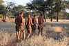 Bushmen-going-out-on-hunt,-Intu Africa