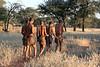 Bushmen-going-out-on-hunt,-Intu Africa