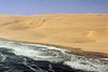 Skeleton-Coast,-where-the-sand-dunes-meet-the-sea-2