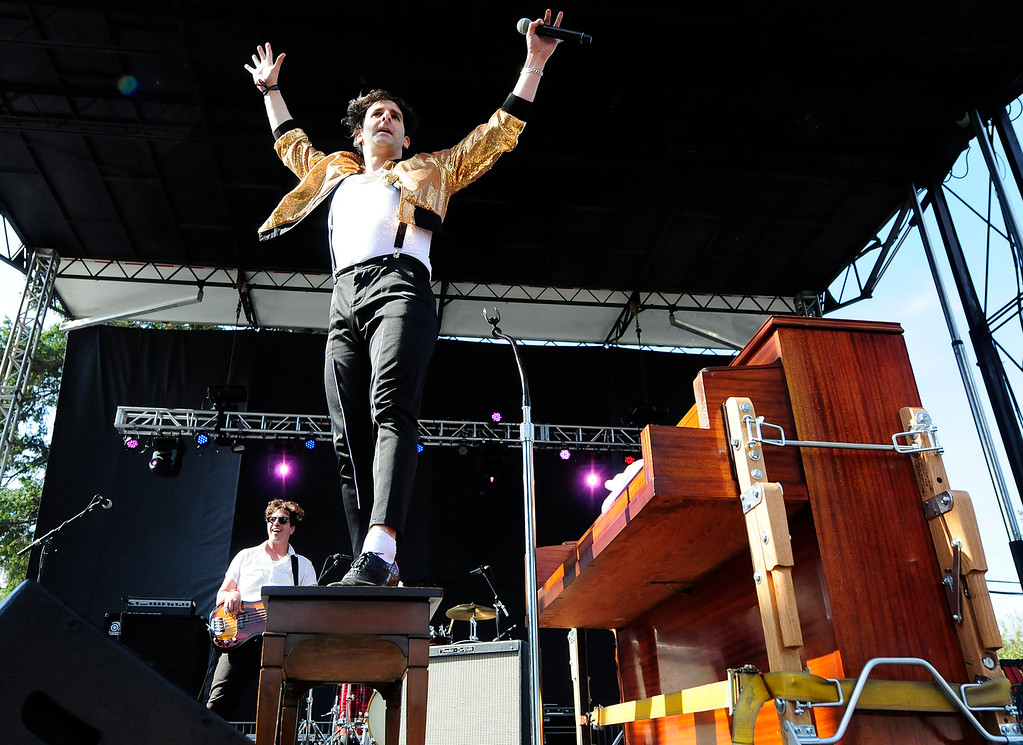 . NAPA, MAY 26- Adam Weiner performs with Low cut Connie on the Lagunitas Stage during the second day of the BottleRock Napa Valley Music Festival. (Chris Riley/Times-Herald)