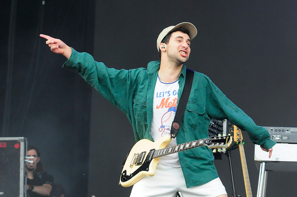 . NAPA, CA - MAY 26, Jack Antonoff performs with The Bleachers on the JaM Cellars Stage during the second day of BottleRock Napa Valley Music Festival. (CHRIS RILEY/TIMES-HERALD)