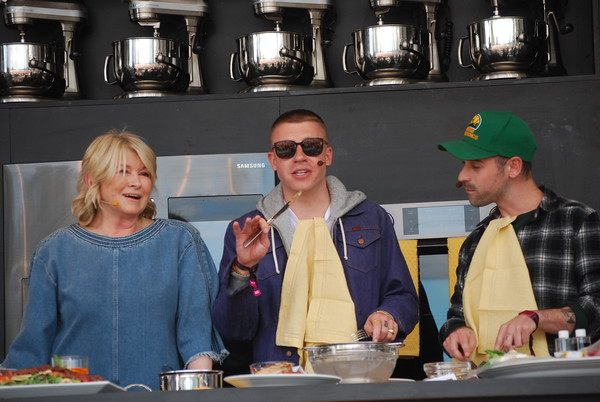 Martha Stewart with Macklemore and Ryan Lewis