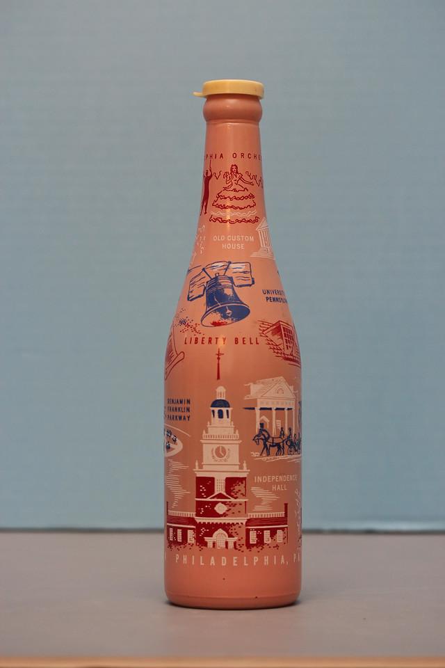 ABCB Convention Bottle (1954)<br /> Philadelphia, Pennsylvania<br /> Gift from William J. & Ardell Pitt<br /> Newport Soda Company<br /> Troy, Illinois