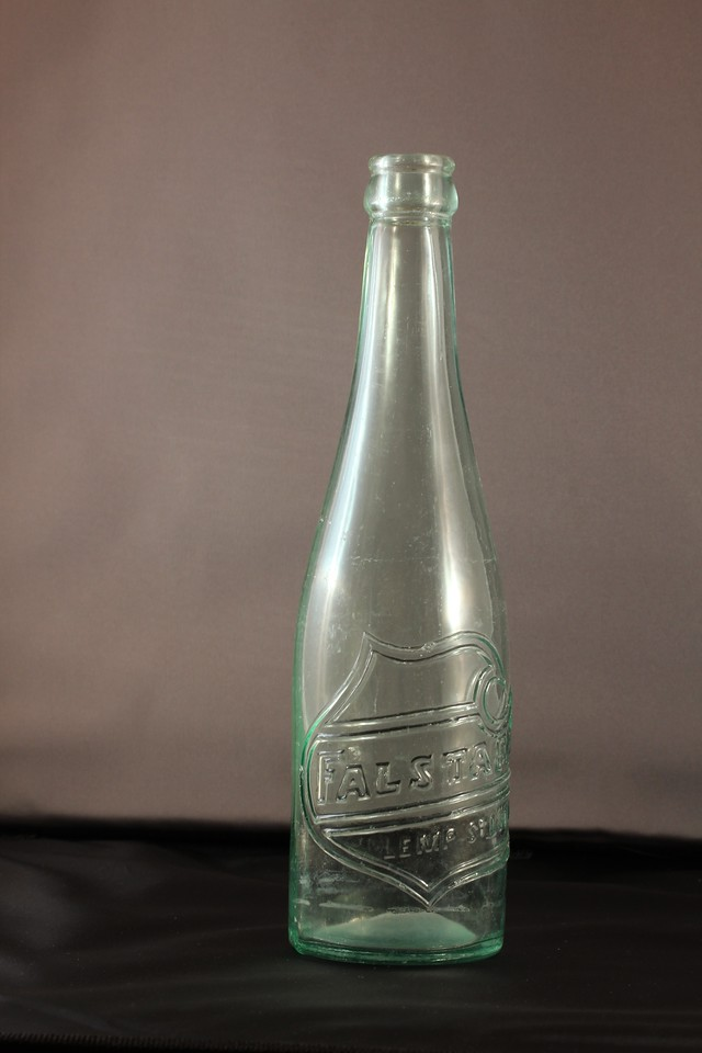 Falstaff Beer Bottle<br /> Lemp Brewery - St. Louis, Missouri<br /> (My biggest find - from theearly 1960s)