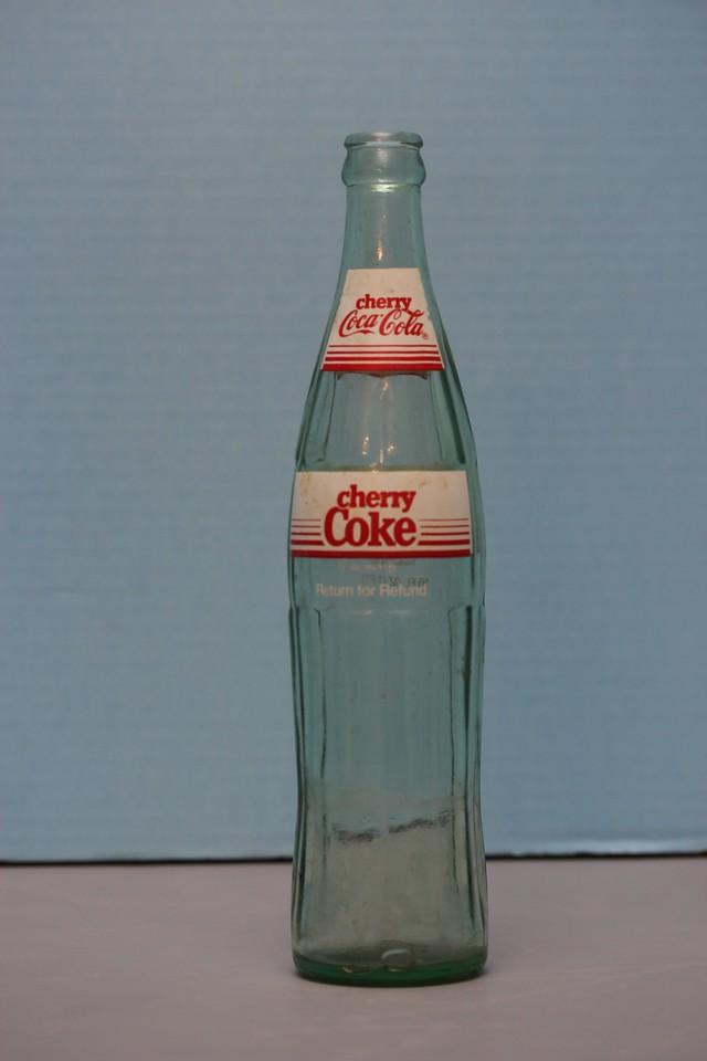Cherry Coca-Cola Bottle
