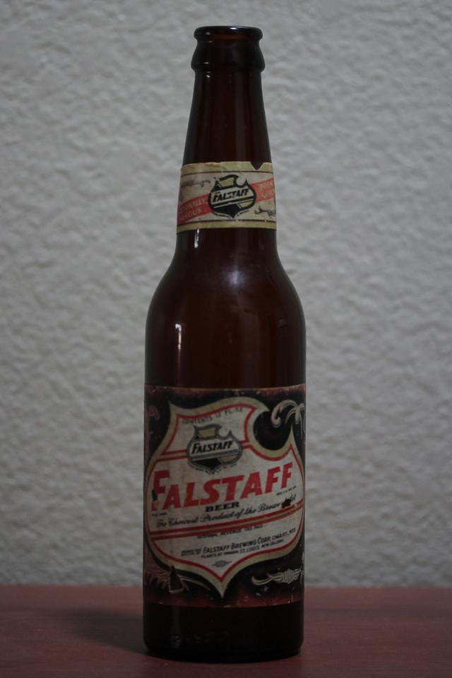 Falstaff Beer Bottle