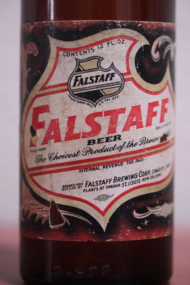 Falstaff Beer Bottle (Label)