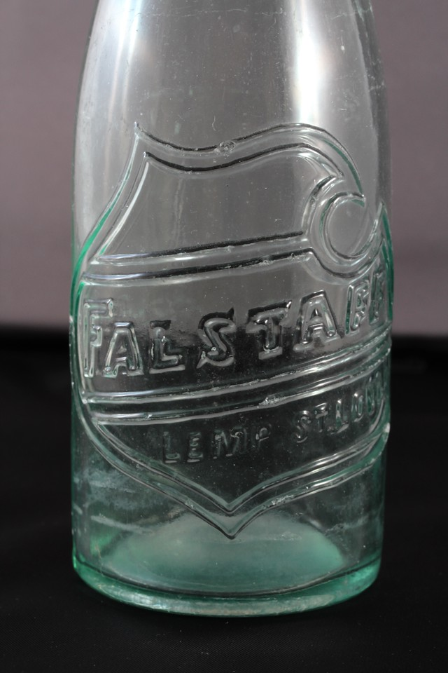 Falstaff Beer Bottle<br /> Lemp Brewery - St. Louis, Missouri<br /> (My biggest find, from back in the early 1960s)