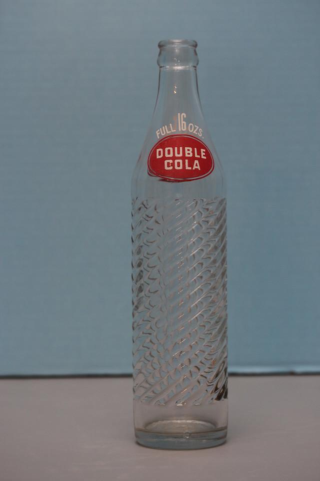 Double-Cola 16 oz. Spiral Bottle