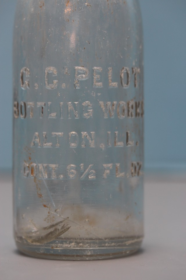 G. G. Pelot Bottling Works<br /> Alton, Illinois<br /> (Another big find from the early 1960s)