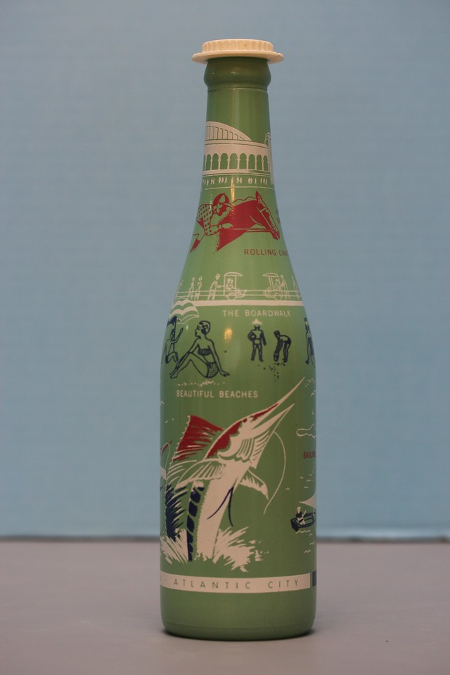 ABCB Convention Bottle (1962)<br /> Atlantic City, New Jersey<br /> Gift from William J. & Ardell Pitt<br /> Newport Soda Company<br /> Troy, Illinois