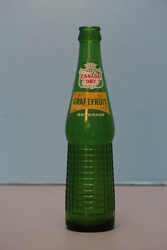 Canada Dry Grapefruit Bottle