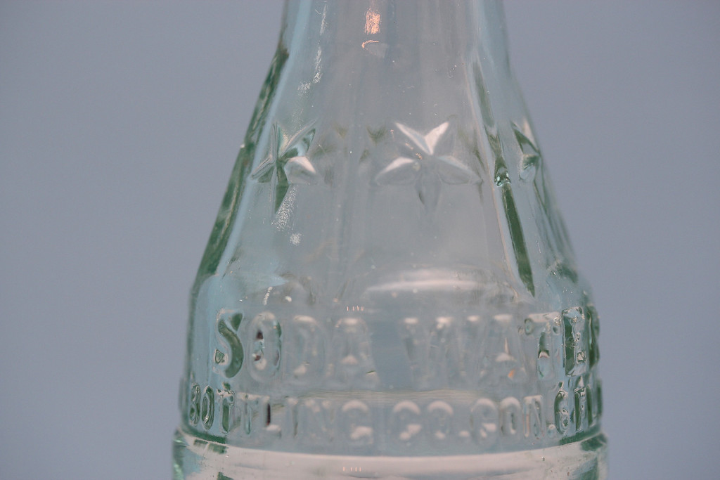 Coca-Cola Bottling Company<br /> Flavor Bottle (Clear)