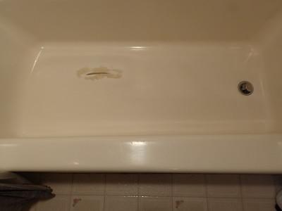 Bathtub Gash Equals a Leaking Mess