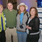 Margaret and Caleb Payne, Hilary Deskins and Olena Goff.