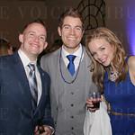 Casey Erwin with Matt and Rebecca Maniago.
