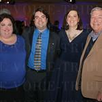 Heather Osborne with Jeff, Karen and Jim Ising.