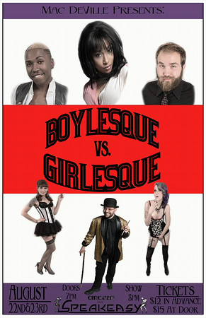 Boylesque vs Girlesque (08-22-14)