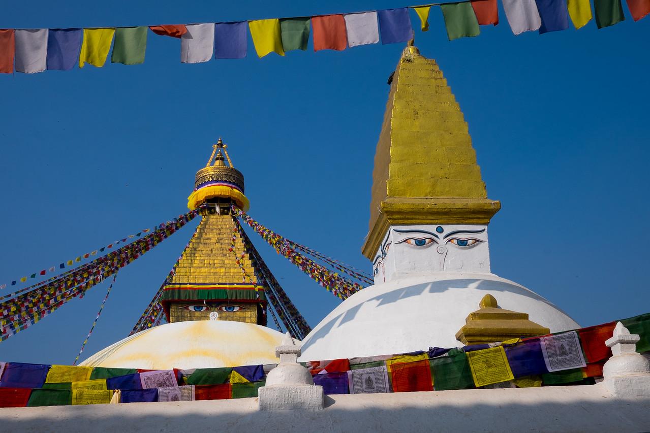 Big stupa, little stupa