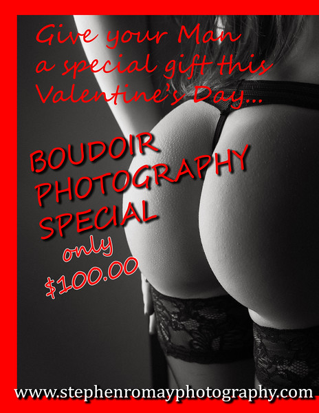 Ask about my Boudoir Photography Special