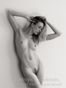 Katy - studio nude using window light
