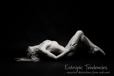 Katy - studio nude on black