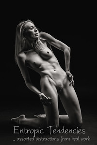 Katy - studio nude on black