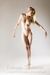 Katy - studio art nude