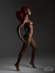 Faith Obae - studio nude