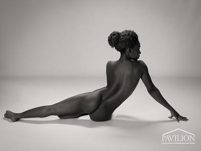 Faith Obae - studio nude