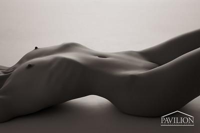 Kayleigh Lush - studio art nude
