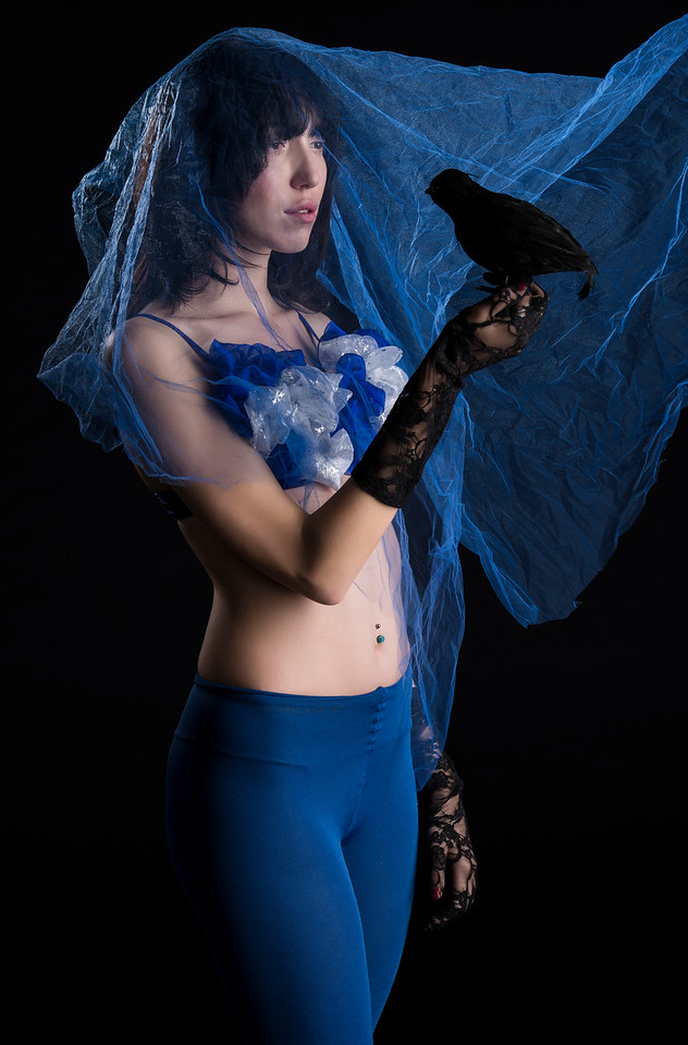 "Model: Carlotta ""Carly"" Castagneris, Wardrobe Stylist: Alison Friedman, MUA: Ta Ming Chen"