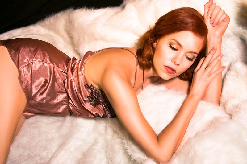 Model: Jenny Kursinski<br /> Makeup & Hair: Morgan McDonnell