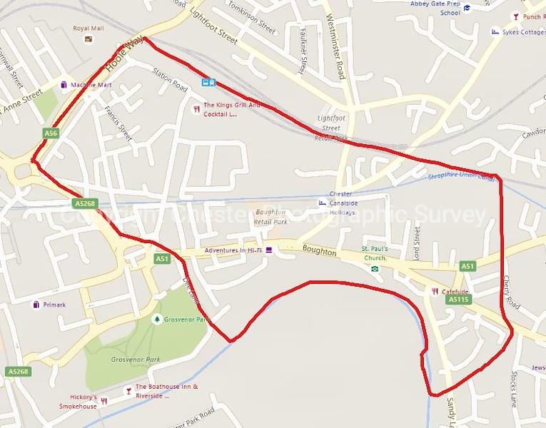 Boughton Map