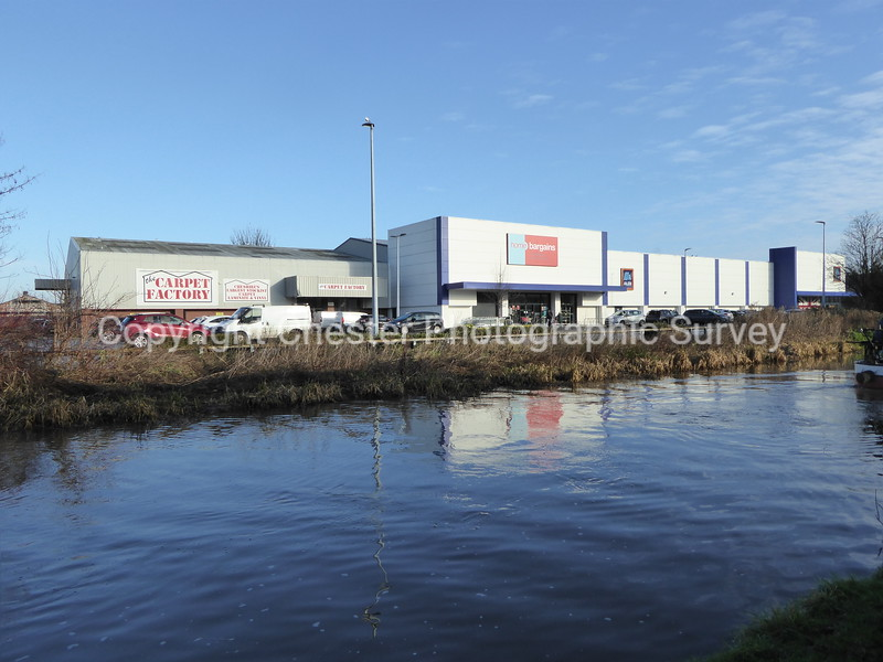 Carpet Factory, Home Bargains and Aldi: Shed Lane: Boughton