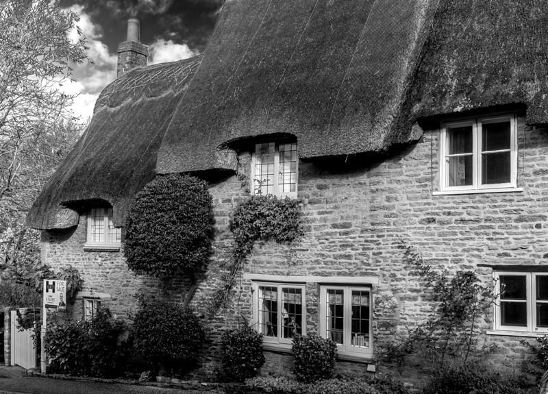 Up the hill, Church Lane, Boughton, Northampton