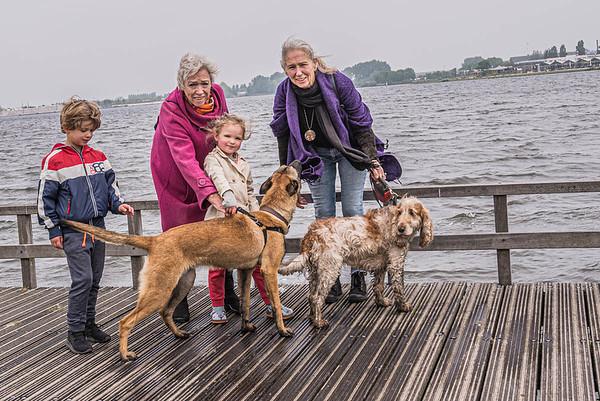 Bij het Valkenburgse meer, met Zoey