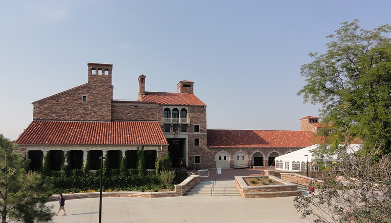 Glenn Miller Ballroom, Location of the 2013 Mars Society Convention, the reason for my visit to Boulder.