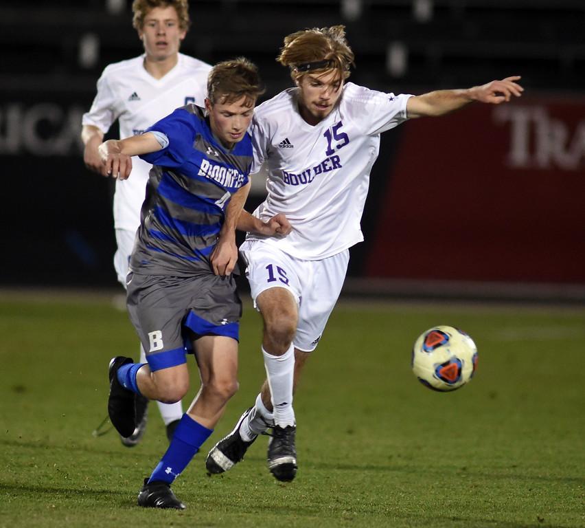 Boulder Broomfield 5A Boy's State Soccer