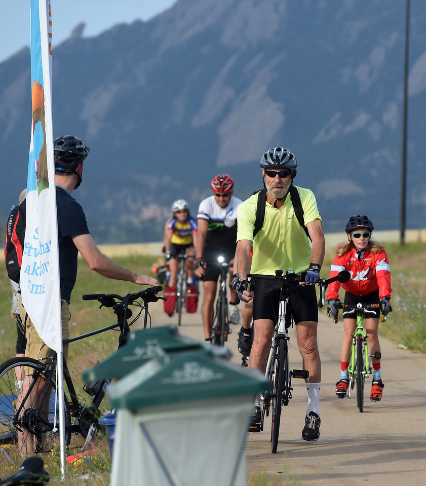 June 2017 Bike to Work in Boulder